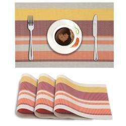 Multicolor Stripes. AND003423. Size- 45x30 cm