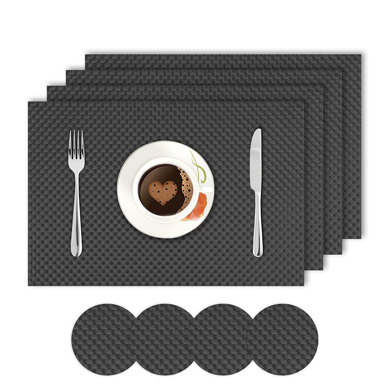 Black. AND008299. Size- 45x30 cm. Coaster Size- 10 cm