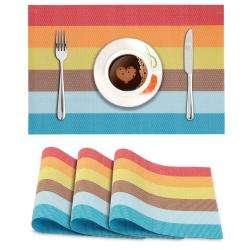 Multicolor Stripes. AND006237. Size- 45x30 cm