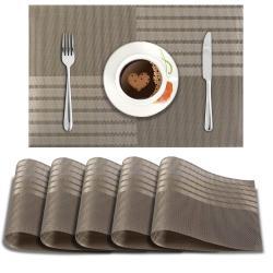 Metallic Brown Stripes. AND004462. Size- 45x30 cm.