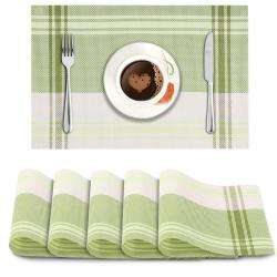 Green Stripes. AND004188. Size- 45x30 cm.