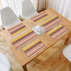 Multicolor Stripes. AND009698. Size- 45x30 cm. Runner Size- 135x30 cm