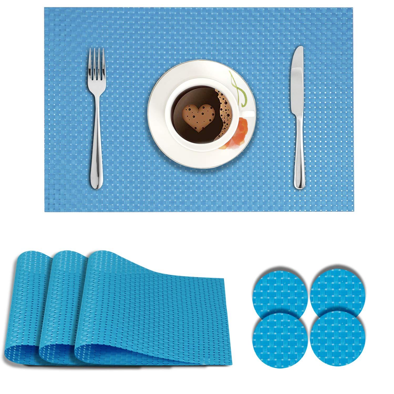 Coastal Blue. AND008289. Size- 45x30 cm. Coaster Size- 10 cm