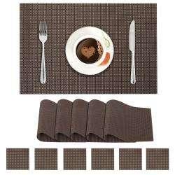 Dark Brown. AND008292. Size- 45x30 cm. Coaster Size-10 cm