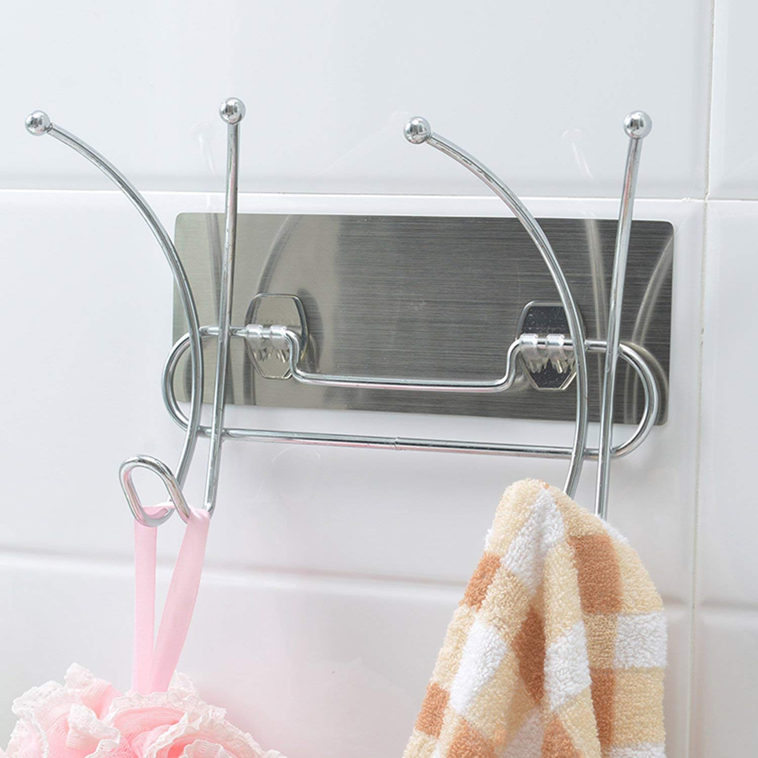 AND007382. Bathroom Towel Hanger/Hooks for Hanging Clothes