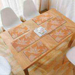 Orange Autumn Leaves. AND009174. Size- 45x30 cm. Runner Size- 135x30 cm