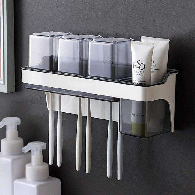 AND009243. Toothbrush Holder with Gargle Cups
