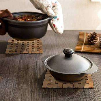 Bamboo Heat Pad & Serving Tray