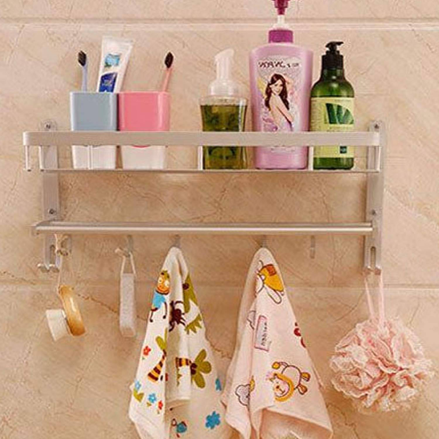 AND008257. Towel/Napkin Holder with Hooks