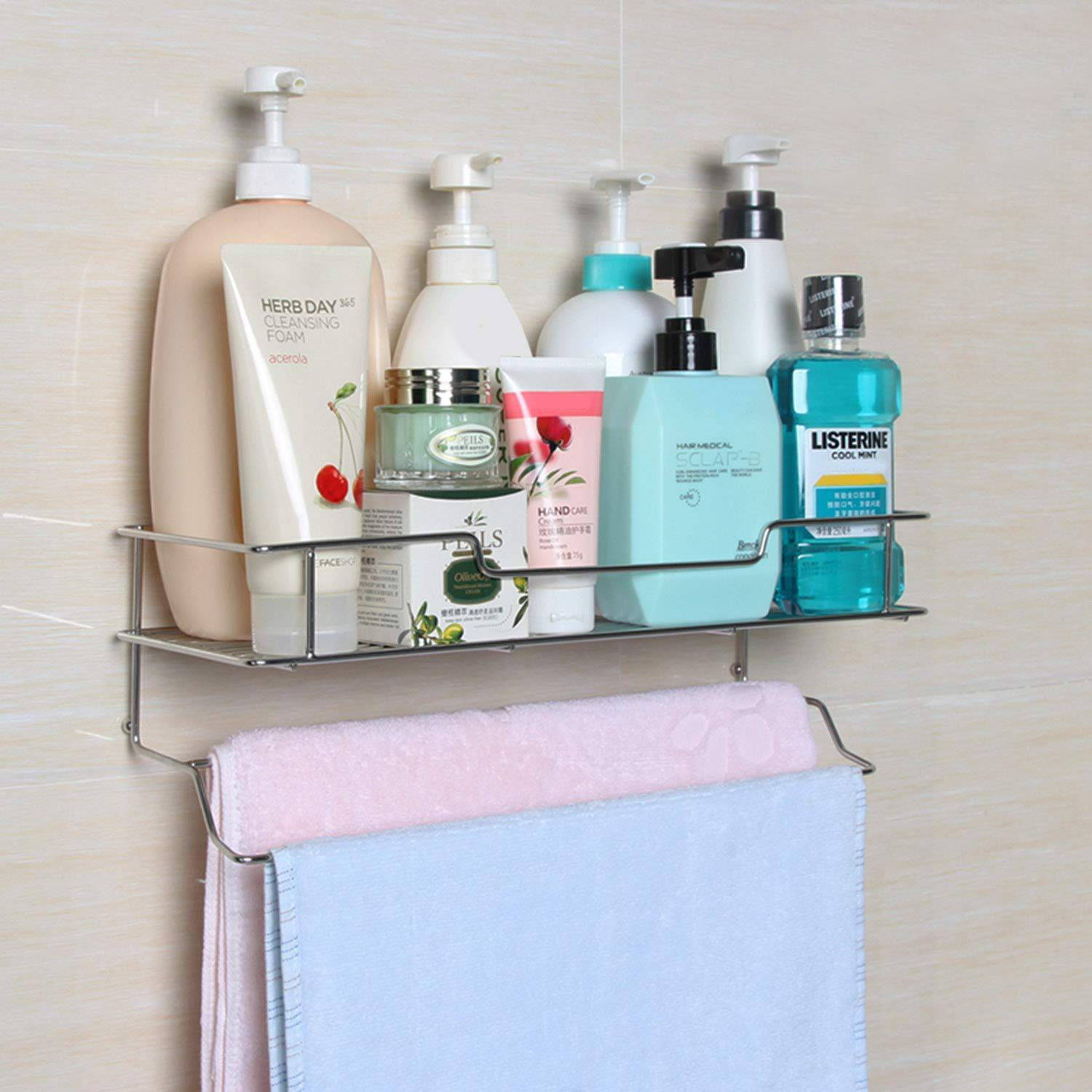 AND008540. Shelf with Towel Holder