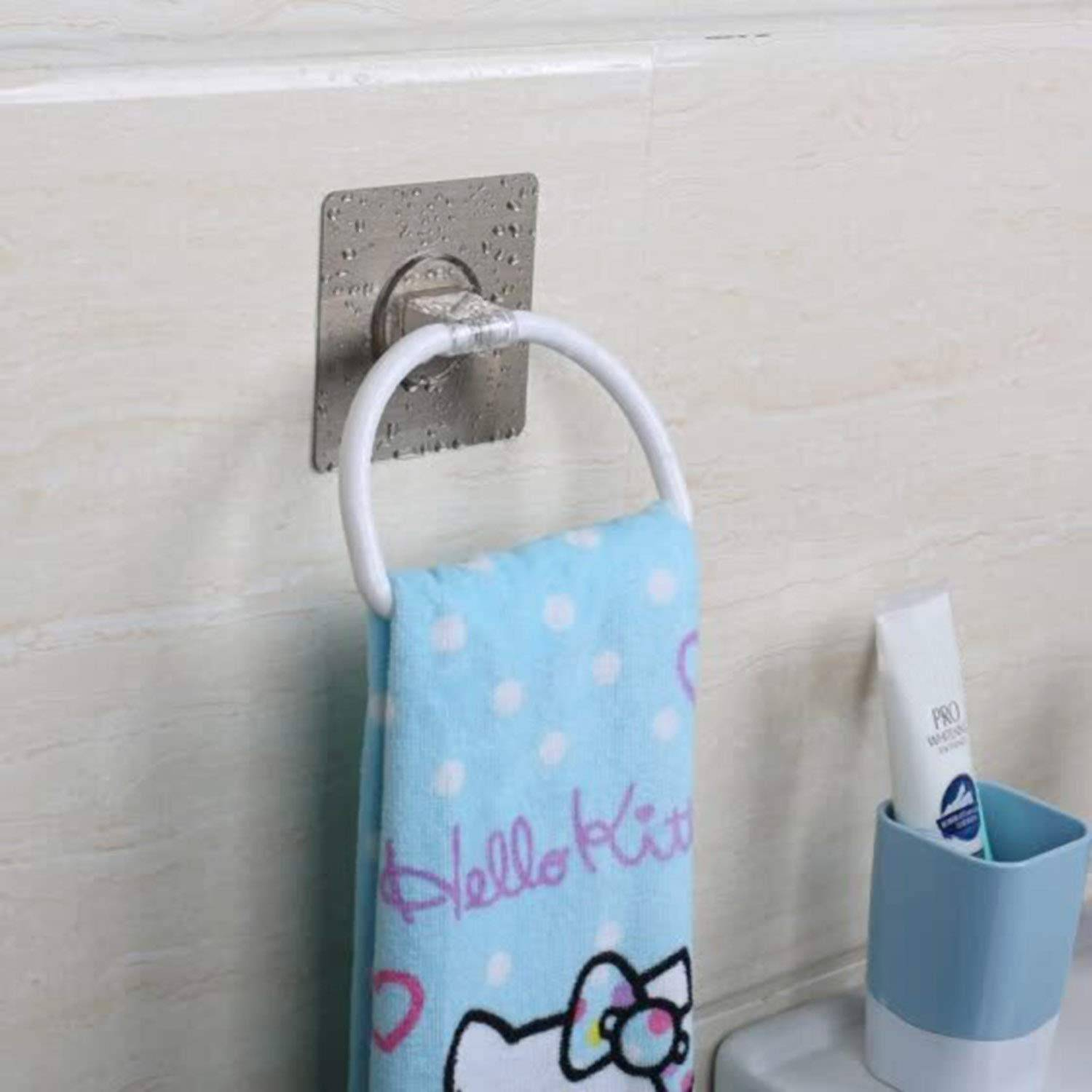 AND008160. Plastic Towel Ring for Bathroom and Kitchen