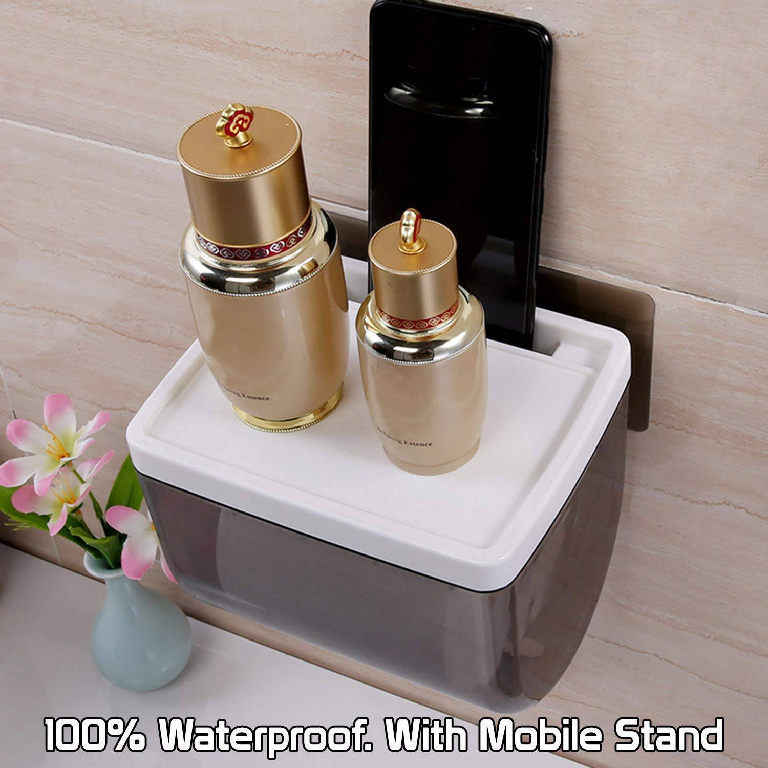 AND008555. Toilet Paper Holder with Mobile Stand