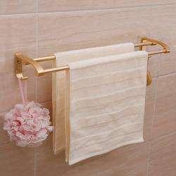 AND009237. Aluminium Double Towel Rod