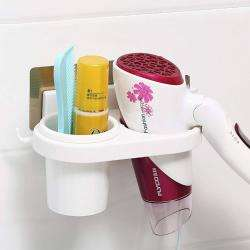 AND005971. Hair Dryer Holder (White)