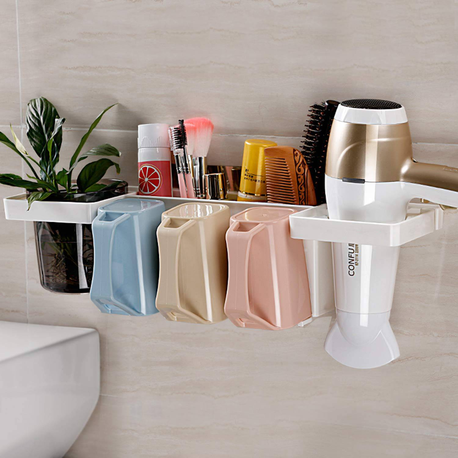AND009236. Bathroom Organizer for Toiletries