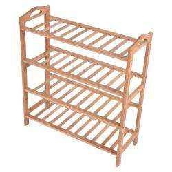 4 Tier Bamboo Shoe Rack. AND009559